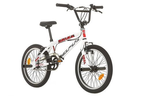 "BMX 20'' FREE STYLE ""SKULL / SPR"" avec rotor system 360° - roues 48 rayons"