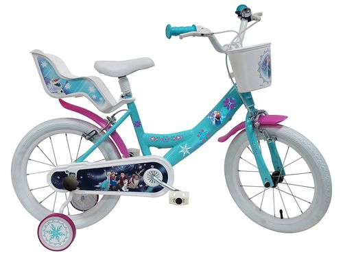 VELO 16'' FILLE LICENCE FROZEN -  2 FREINS